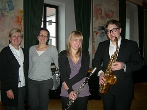 Christoph Ungerböck im Bild rechts