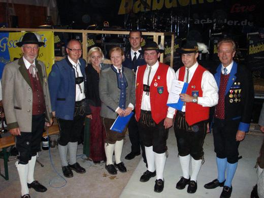 MV Hochneukirchen Preisverleihung Marschmusikwertung 2012 in Gschaidt