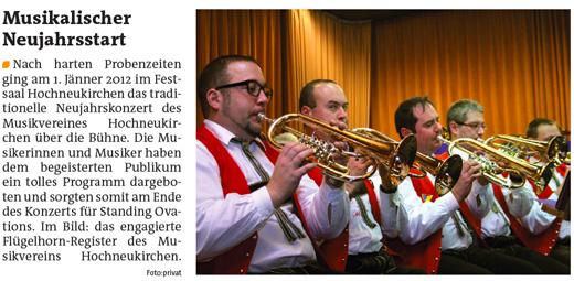 Pressebericht NJ Konzert 2012